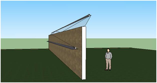 Монтаж волоконно оптического сенора системы охраны периметра СВМ-1 на тяжелое или монолитное ограждение